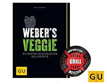 Weber S Veggie, Las Mejores vegetarischen Barbacoa Recetas + Grillmeister Design by collectix