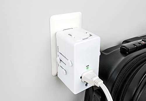 Conair Travel Smart Worldwide Adapter with Relaxing Sounds