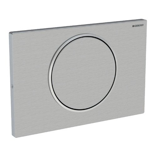 Geberit 115.787.SN.5 Sigma10 Stop-and-Go Flush Actuator Plate, Stainless Steel