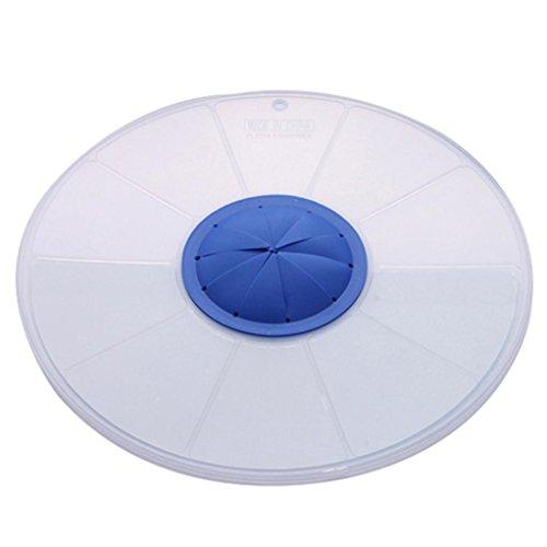 - Longay 1PCS Eggs Mixer Anti Splash Plastic Silicone Transparent Round Cover Egg Cream Waterproof Splash Egg Beater Cover Lid