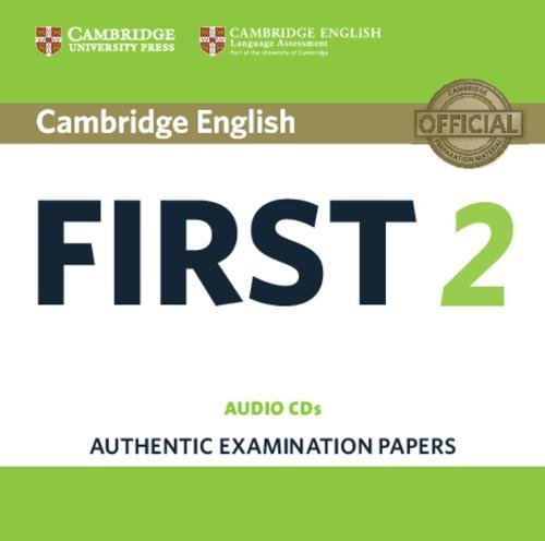 Cambridge English First 2 Audio CDs (2): Authentic