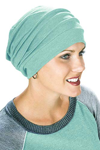 d2be365e860c1 Headcovers Unlimited Slouchy Snood-Caps for Women with Chemo Cancer Hair  Loss