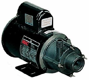 Little Giant 584604 1/8 HP 1200 GPH 115/230V Magnetic Drive Pump with 6ft. Cord ()