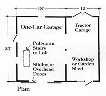 Sixteen Small Pole-Barn, Workshop and One, Two or Three Car Country Garage  Plans - Complete Pole Barn Construction Blueprints
