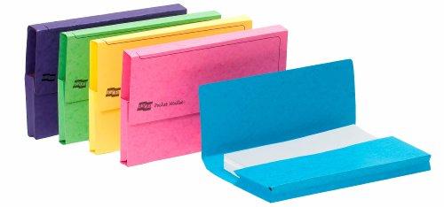 Europa 3156Z Dokumentenmappe, Foolscap-Format, farblich sortiert