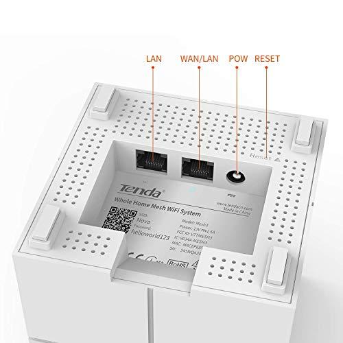 2pk Nova Mw6 Mesh Wifi Coverage Up To 4000sq.Ft by Tenda (Image #1)