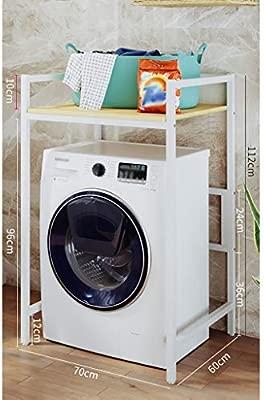 Estante de la lavadora Estantería de baño de una sola capa ...