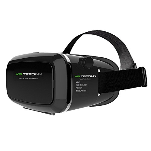 Find Cheap 3D VR Glasses Headset with Adjustable Lens and Strap for 3.5-5.5-Inch Smart Phones (018)