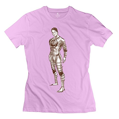 Fire-Dog Women's Fantastic Four 2015 Mister Fantastic Tee Size XS Pink