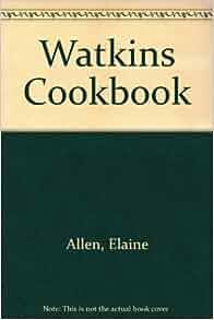 Watkins Cook Book, Elaine Allen, 8th Edition, c.1948
