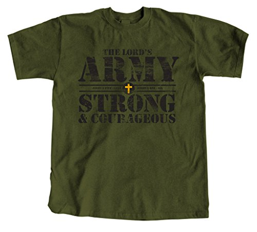 Classic Army Green T-shirt - 7