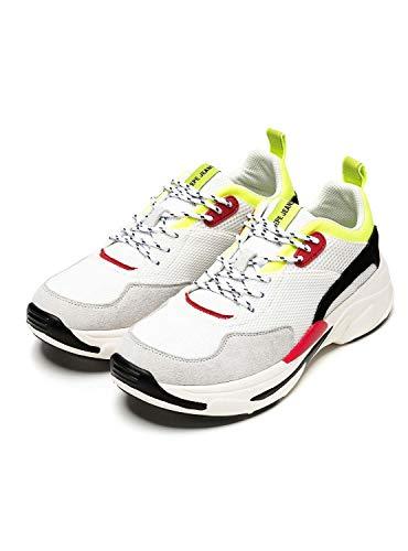 Sneaker Pepe Jeans Men Sinyu Uomo 800white 800 Weiß q7F81z7Tx