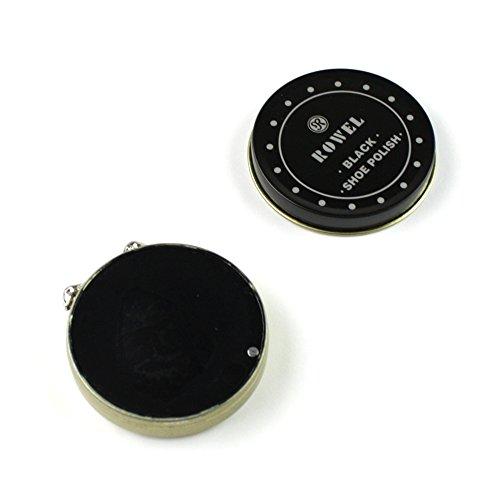 eBuyGB Shoe Shine Polish Kit in Travel Case - 8 Piece Brush Kit (Black and Neutral) by eBuyGB (Image #7)