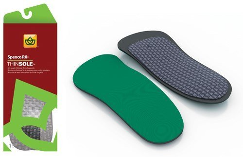 Complete Medical Thinsole 3/4 Length Insole W 7/8 M 6/7