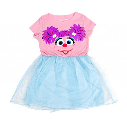 Sesame Street Abby Blue Glitter Dress (Toddler 4)