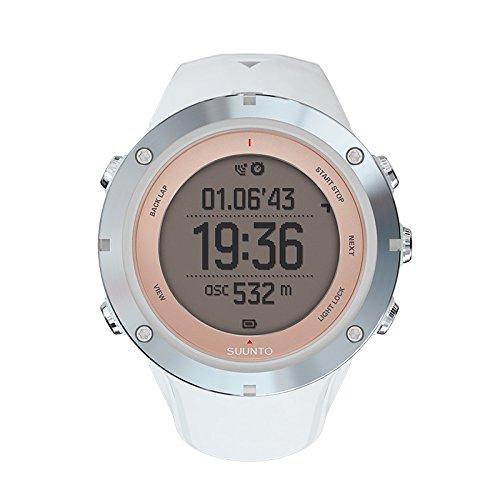 Suunto Ambit3 Sport Reloj con GPS Integrado, Mujer, Blanco/Plateado/Rosa (Sports Sapphire), Talla Única