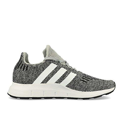 Adidas Swift Run C Grey White White Grey White White