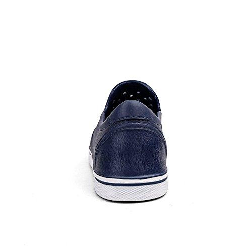 Scarpe uomo Comodo Sandali Xujw Vamp moda tacco Sandali e leggero Blu piccolo morbido il piatto Sandalo da alla Uomo 2018 resistente On da spiaggia moda libero per shoes tempo Slip rBxEBZ