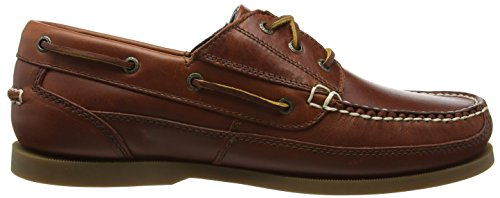 Chatham Rockwell, Náuticos para Hombre Brown (Chestnut)