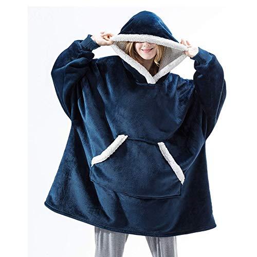 cotton yangda Hoodie deken, oversized hoodie sweatshirt, originele deken sweatshirt, super zacht, gezellig, warm…