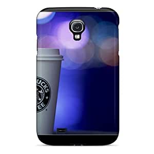 Awesome Starbucks Flip Case With Fashion Design For Galaxy S4