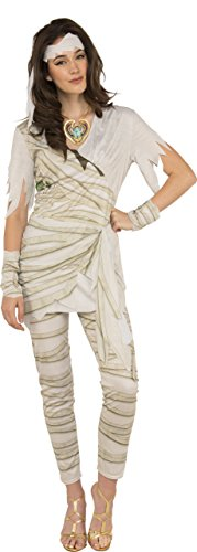 Costumes Mummy (Rubie's Costume Co. Women's Queen of the Undead Mummy Costume, As Shown,)