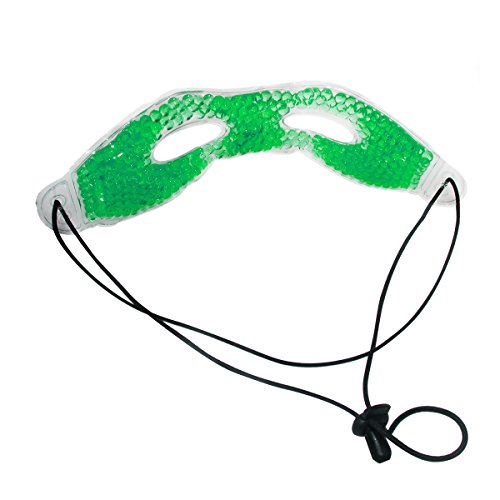 FORMAX CARE Gel Beads Eye Mask 9.6 x 3 IN Therapies Hot/Cold Eye Relaxing Mask (1 pack)