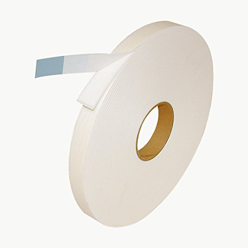 J.V. Converting DC-PEF12A/WI118013 JVCC DC-PEF12A Double Coated Polyethylene Foam Tape: 1/8