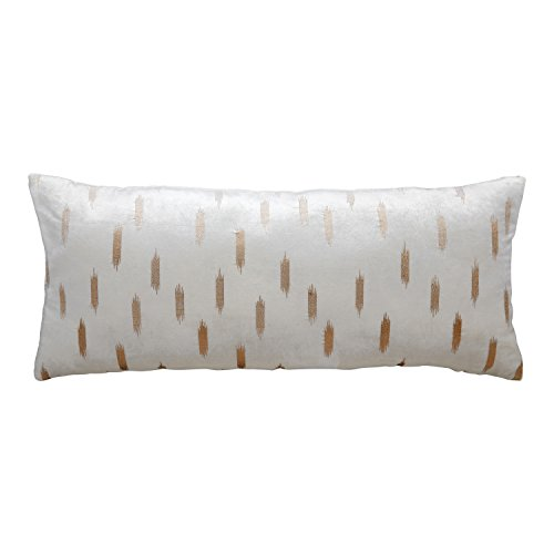 FLOOR | 9 Velvet Bolster Pillow, Rose Gold Fade Pattern, 12