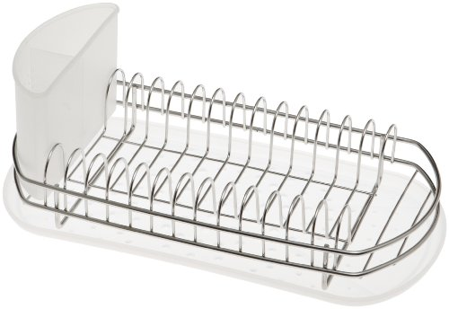 2680aedcd59d Amazon.com: Amco Mini Dish Rack Set, Stainless Steel: Dish Rack For Cups:  Kitchen & Dining
