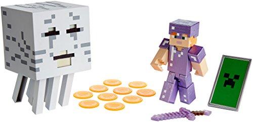 Mattel Minecraft Alex with Ghast Figure]()
