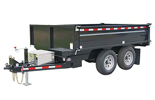 (Dump Trailer Plans DIY Bumper Pull 45 Degree Tipping Angle 10'x6' Build Your Own)