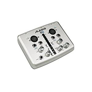 Alesis IO2 Express | 2-Channel USB Recording Interface with 48V Phantom Power (24-bit / 48 kHz)