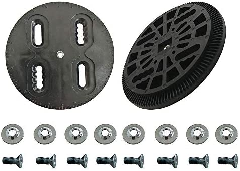 UP100 Snowboarding Binding Disc Set Black Disc (Pair) Binding Spare Parts Mounting Plates Strap-in Technine