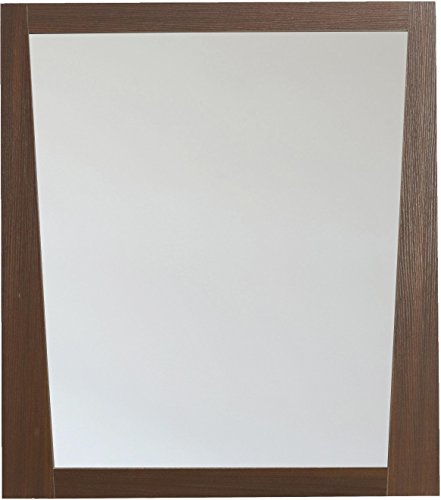 American Imaginations AI-5-1184 Modern Plywood-Melamine Wood Mirror, 28-Inch x 34-Inch, Wenge Finish by American Imaginations