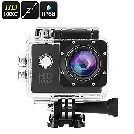 Cámara de acción genérica 1080p Full-HD (IP68 Resistente al ...