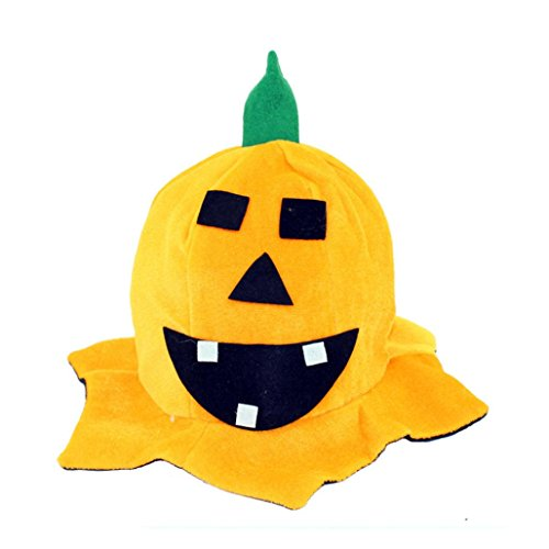 [Tenworld Costume Party Props Halloween Pumpkin Hat] (Crazy Christmas Hats)