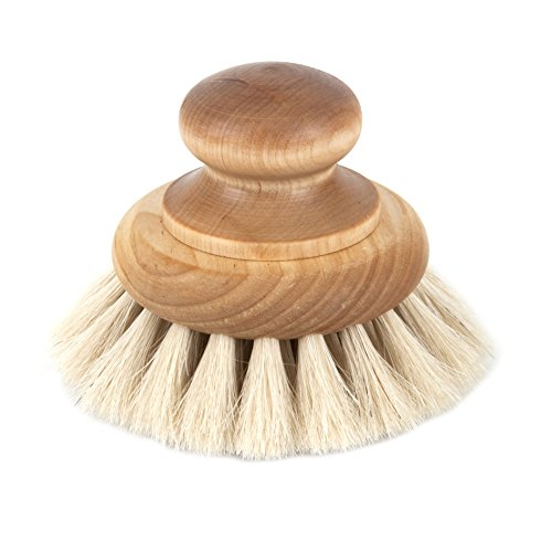 Iris Hantverk Bath Brush with Knob in Birch