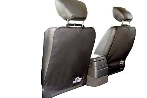 The Original iGuard Kick Mat (2-pack) by 2 Silly Monkeys - Deluxe Auto Car Seat Back Protector for Kids