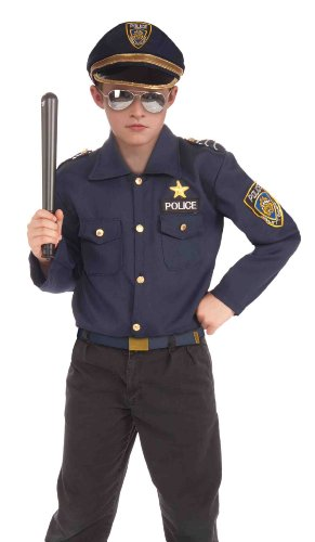Forum Novelties Instant Police Child Costume Kit, (Cop And Robber Halloween Costume)