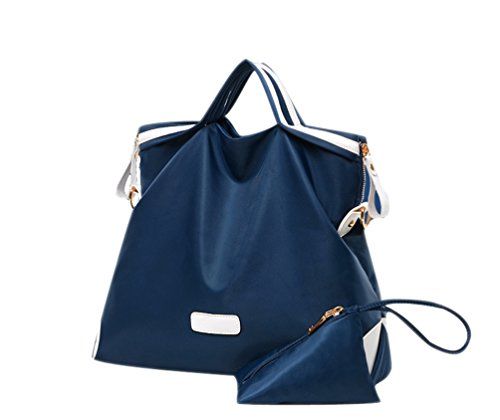 Scuro Nylon Cinturino In Bag Di Ladies Borse Spalla Della Blu Oversize Borsa Donna Hobo Corsa x0wR1ZSPq