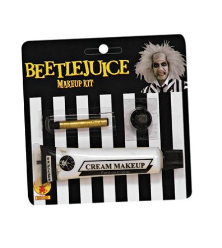 [Beetlejuice Makeup Kit] (Beetle Juice Wig)