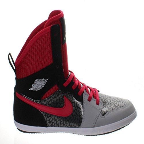 Nike Jordan 1 Skinny High GG Sneakers Black/Grey/Red/White S