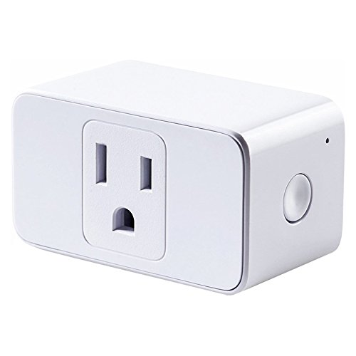 Price comparison product image TOOGOO Smart Plug Mini, Outlet Compatible with Alexa & Google Assistant, Wi-Fi Enabled, Schedule Automatically, No Hub Required, Control Your Devices from Anywhere US Plug