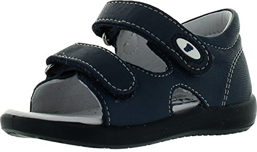 Falcotto Boys 1175 Casual First Walker Sandals,Navy,21 - Falcotto Kids Sandals