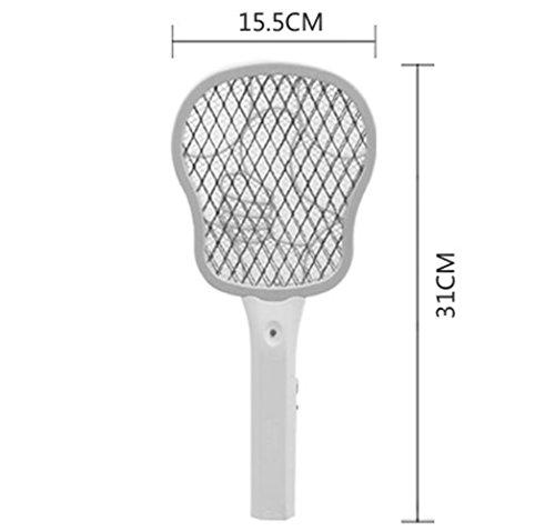 Mini eléctrico de mosquitos matamoscas pilas matamoscas de ...