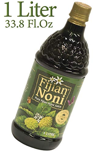 Fijian Noni®100% Pure Certified Organic Juice. Rich in Antioxidants. Today's Deal (Single 1 Liter) A Gift of Nature.