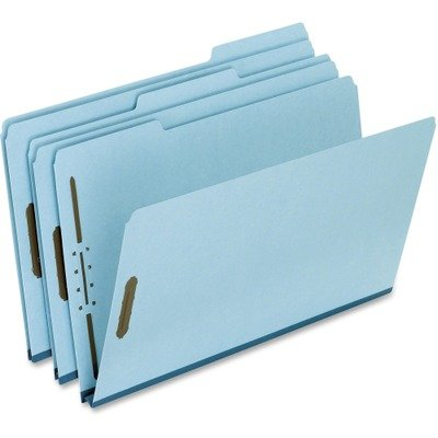 (3 Pack Value Bundle) PFXFP313 Two-Fastener Pressboard Expanding Folder with 1/3 Cut Tab, Legal, Blue, 25/Box