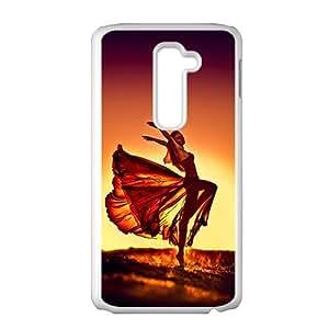 Dancing beautiful girl lovely phone case for LG G2