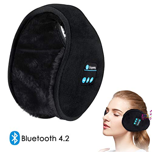 Bluetooth Ear warmer Headphones behind the head